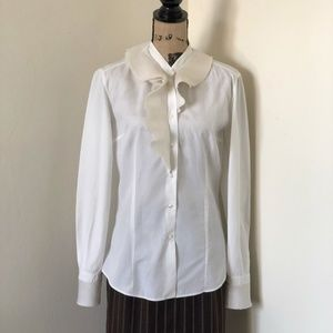 Ermanno Scervino Tops - Ermanno Scervino Fitted Button Down Shirt *8 US